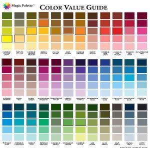 Color Value Guide Colour Pinterest Colors