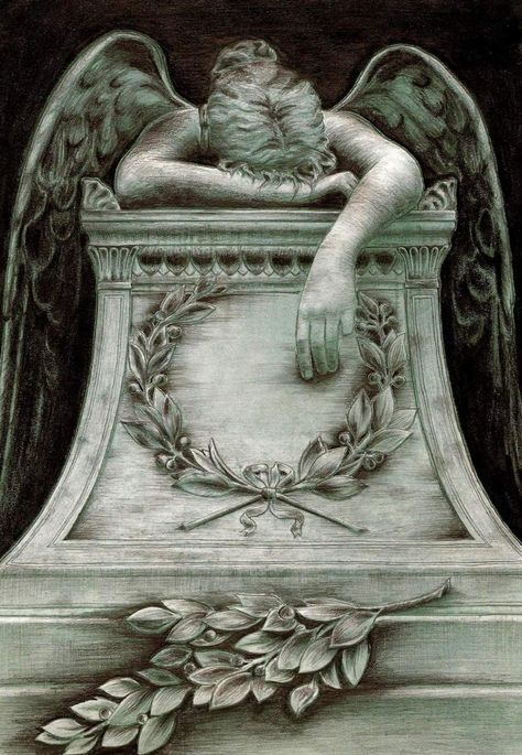 Angel of Grief...This says it all...Some days it's hard to even lift your head...