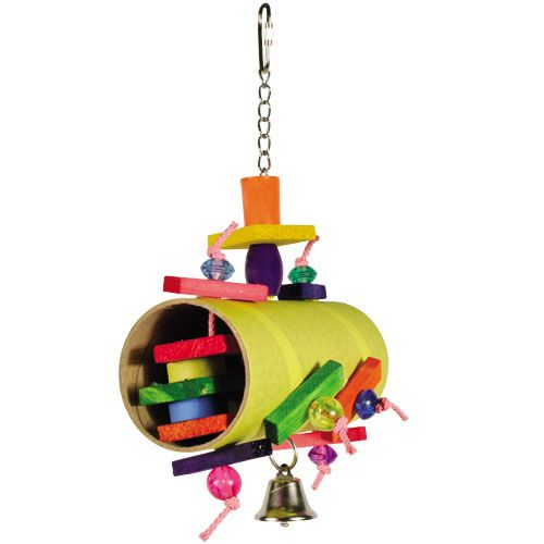 Barrel of Fun Jr. Bird Toy from Great Companions