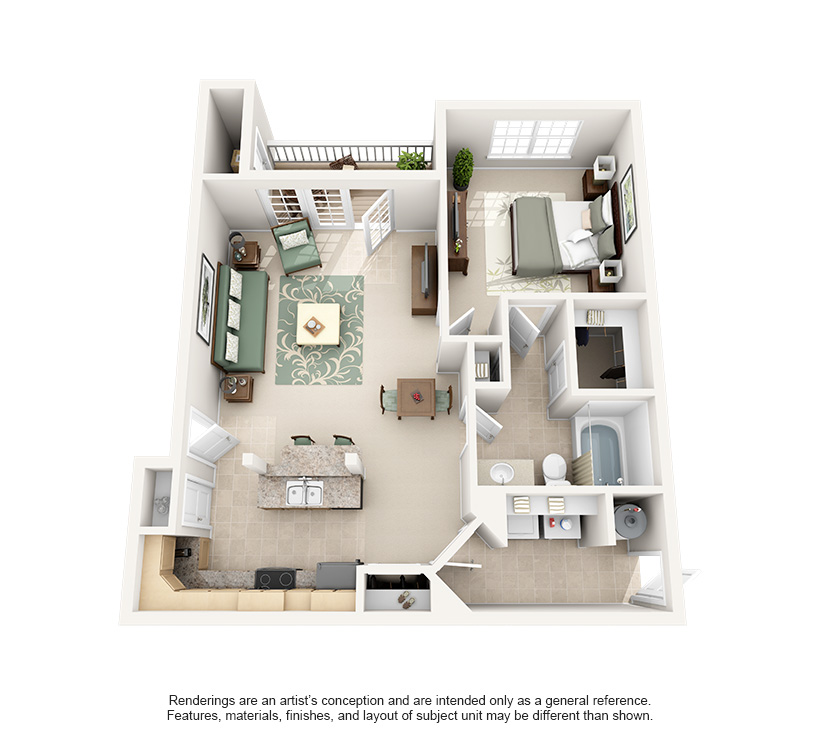 Luxury 1 and 2 Bedroom Apartments in Frankfort, KY