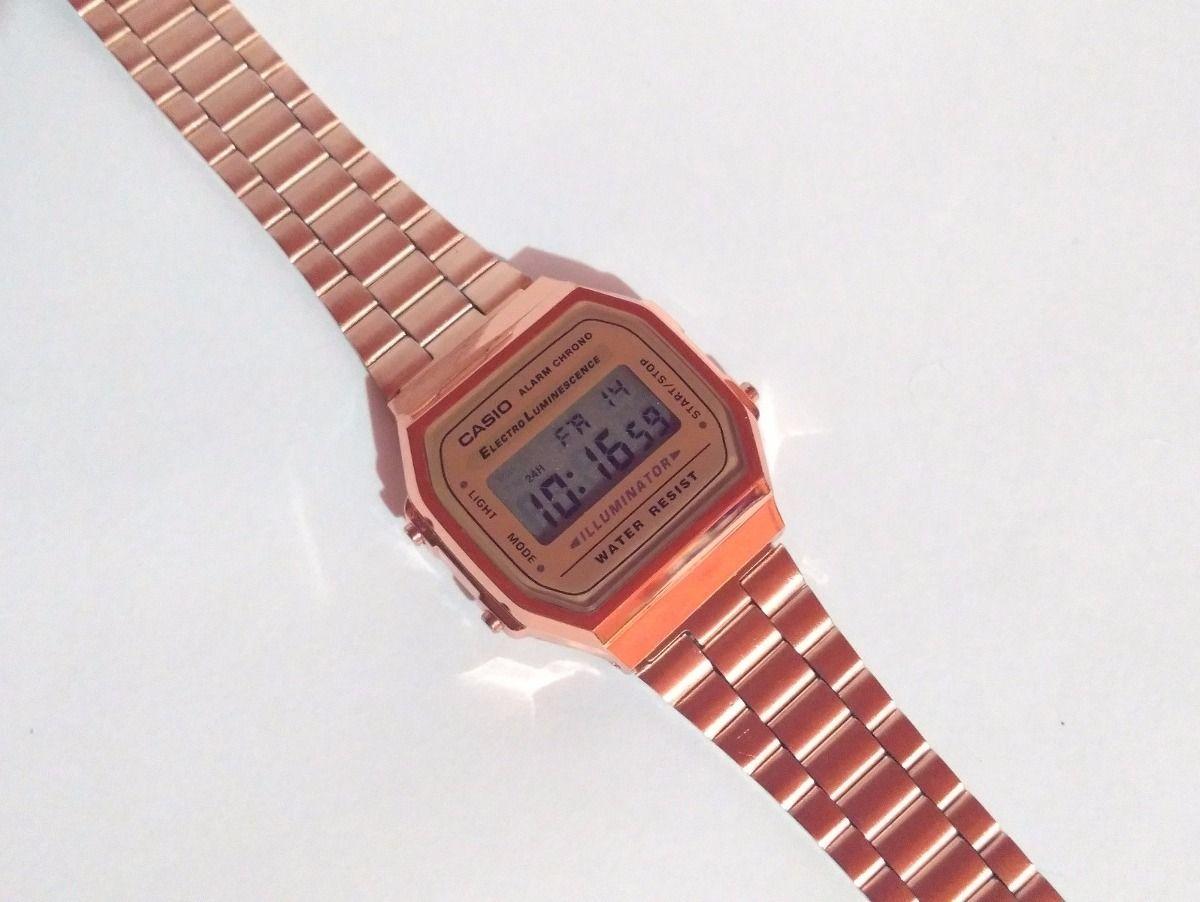 4ac69eda42b Reloj Rosa A168 Retro Cobre Vintage Rose Gold Envío Gratis -   399.00 en  Mercado Libre