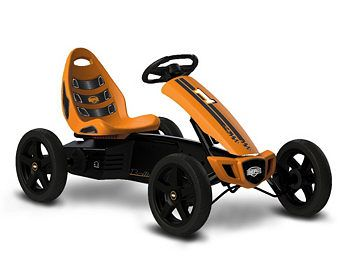 gokart berg rally orange bild 1 rex kettcar und kinder. Black Bedroom Furniture Sets. Home Design Ideas