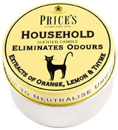 Image of Household Candle - Tin