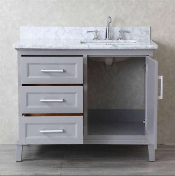 42 Inch Bathroom Vanity Cabinet Only Simple Home Interior In 2018