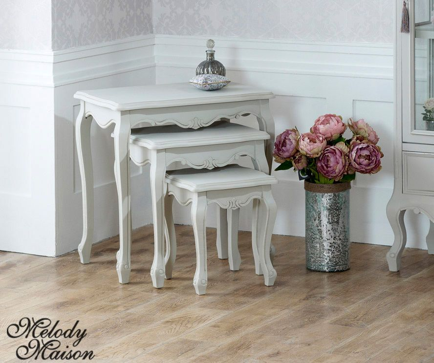 Nest of 3 Tables Elise Grey Range