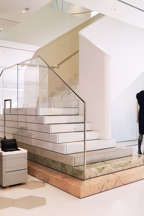 Best Multi Colored Stairs Simple And Clean Staircase With 400 x 300