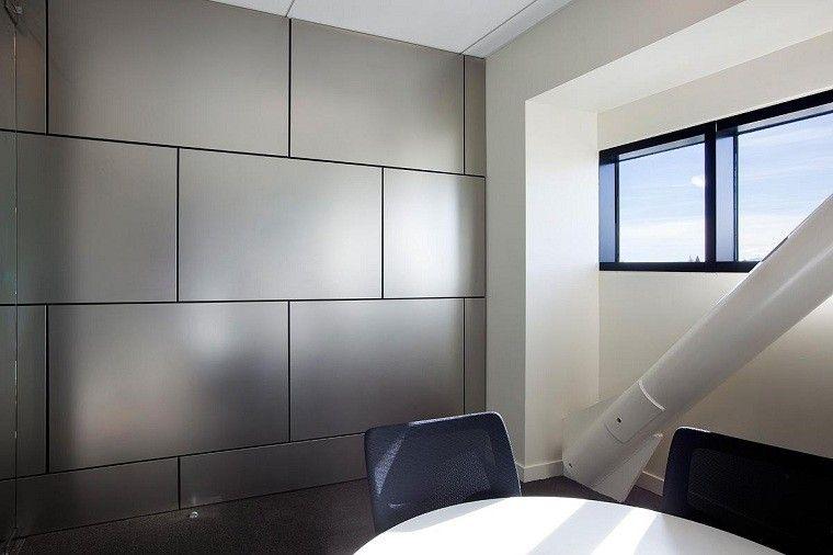 revestimiento de paredes interiores silla metal laminas - Revestimiento De Paredes Interiores