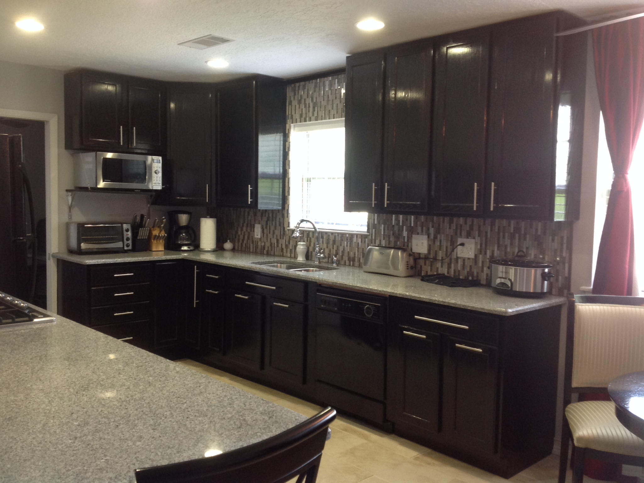 """kitchen remodel by mi""""shelle t. of pasadena, tx. remodeling our home"""