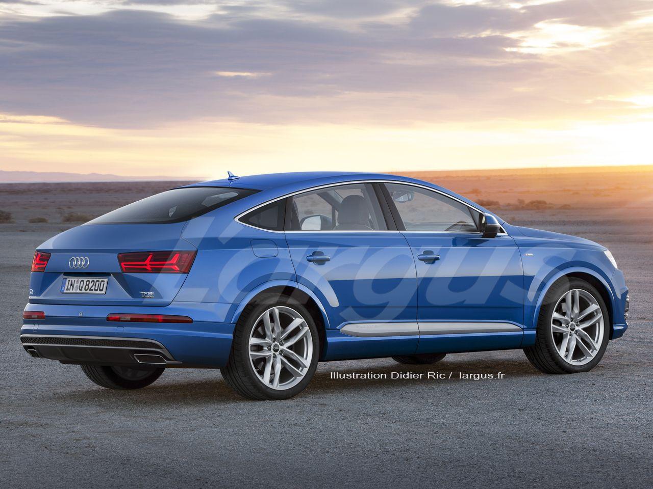 Audi Q8 (2020) : les BMW X6 et Mercedes GLE Coupé sont ...