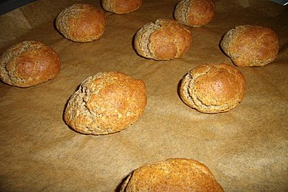 Brötchen aus Leinsamenmehl und Mandelmehl | Rezept