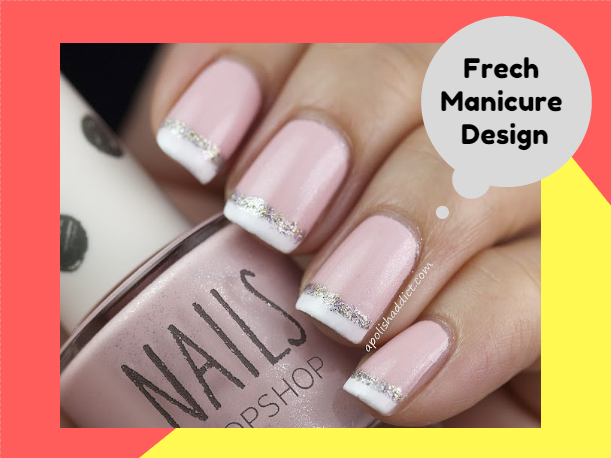 2017 French Manicure Nail Art Designs Tips At Home Part 98