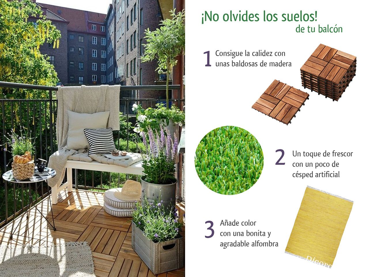 5 consejos para decorar balcones peque os con encanto house for Decoracion balcones pequenos