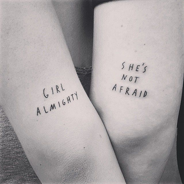 55 Creative Tattoos You Ll Want To Get With Your Best