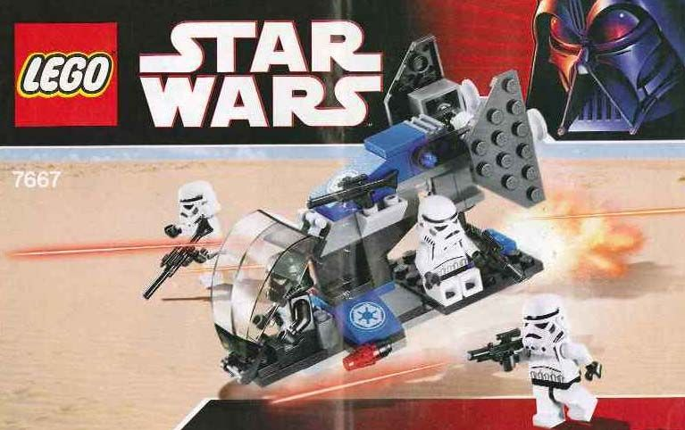 Star Wars - Imperial Dropship [Lego 7667] | Lego Sets of Epicness ...