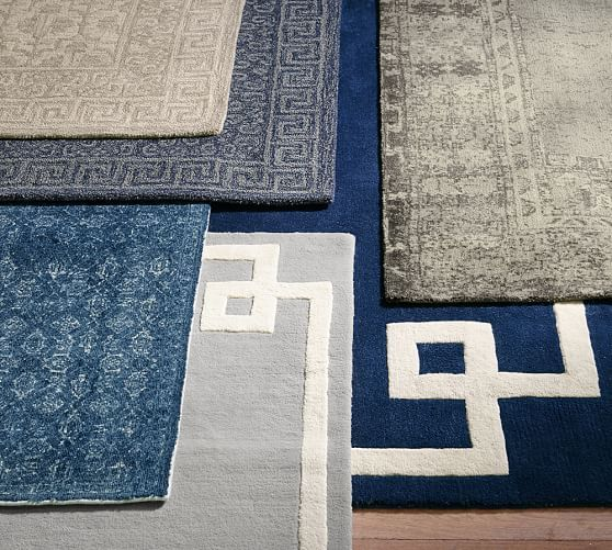 Braylin Tufted Wool Rug 8x10 Blue Wares Pinterest Rugs