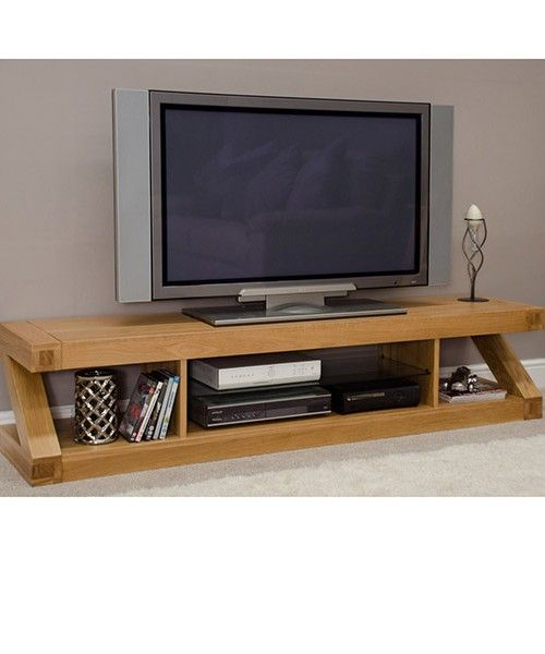 Oak Tv Stand Flat Screen Living Room Pinterest Tv Unit Tv