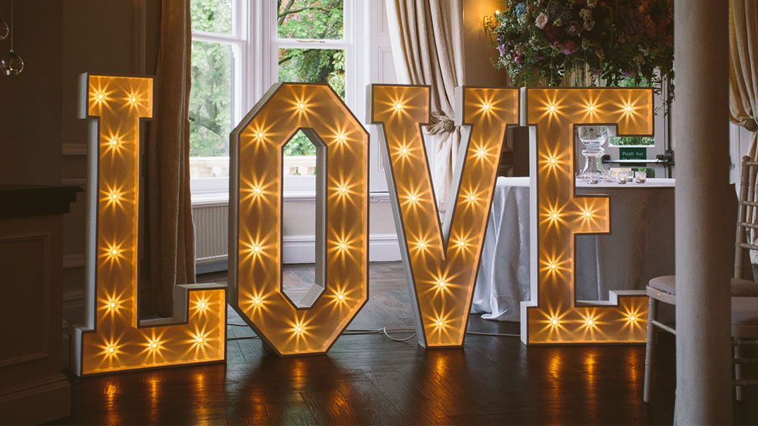 Light Up Love Letters The Word Is Love Light Letters Light Up Letters Illuminated Letters