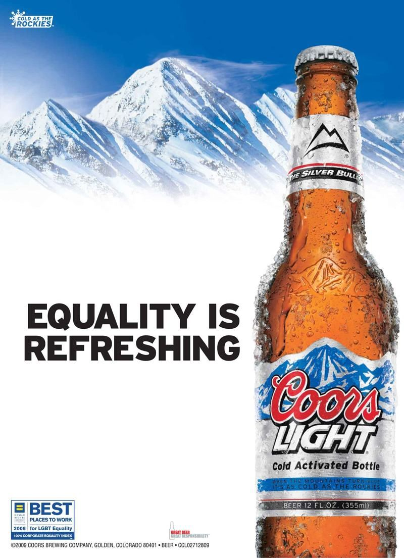 rights Coors gay