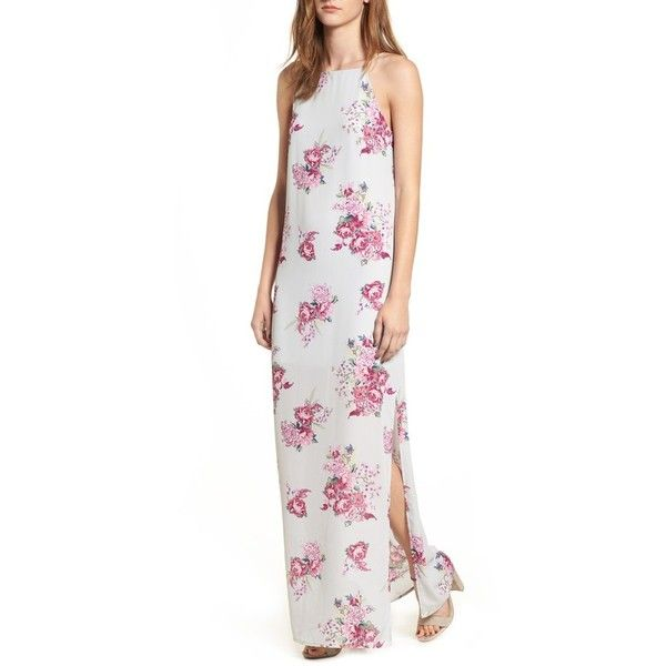 025203f12e1 Women s Dee Elly High Neck Maxi Dress (£39) ❤ liked on Polyvore featuring