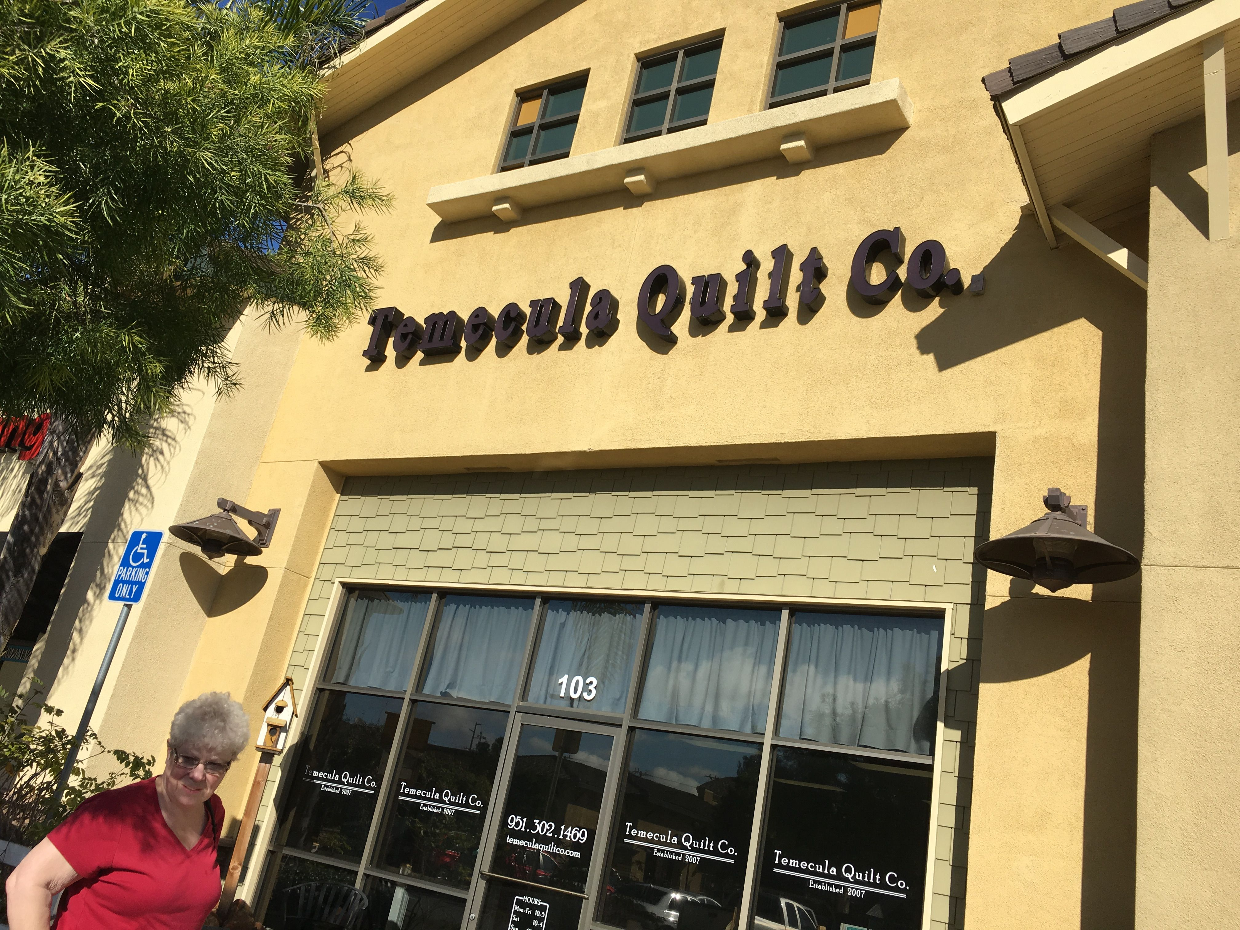 Temecula Quilts, Temecula, CA. Visited 2/11/2017. Traditional shop ... : quilt shops in ocala fl - Adamdwight.com