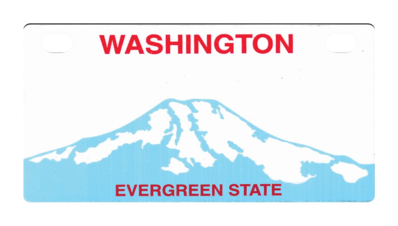 washington state license plates washington license plate