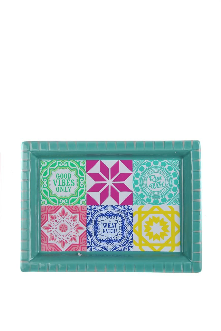 tiled tray Typo Kids outfits, Decorative boxes, Tiles