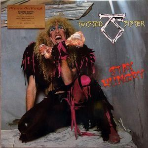 twisted sister stay hungry lp record vinyl en 2019 products metal albums rock album. Black Bedroom Furniture Sets. Home Design Ideas