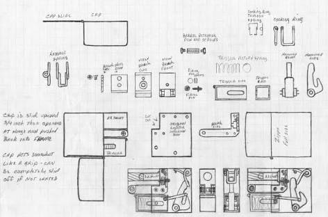 Image result for diy single shot 22 derringer Gun Art Pinterest - copy blueprint detail in short crossword clue