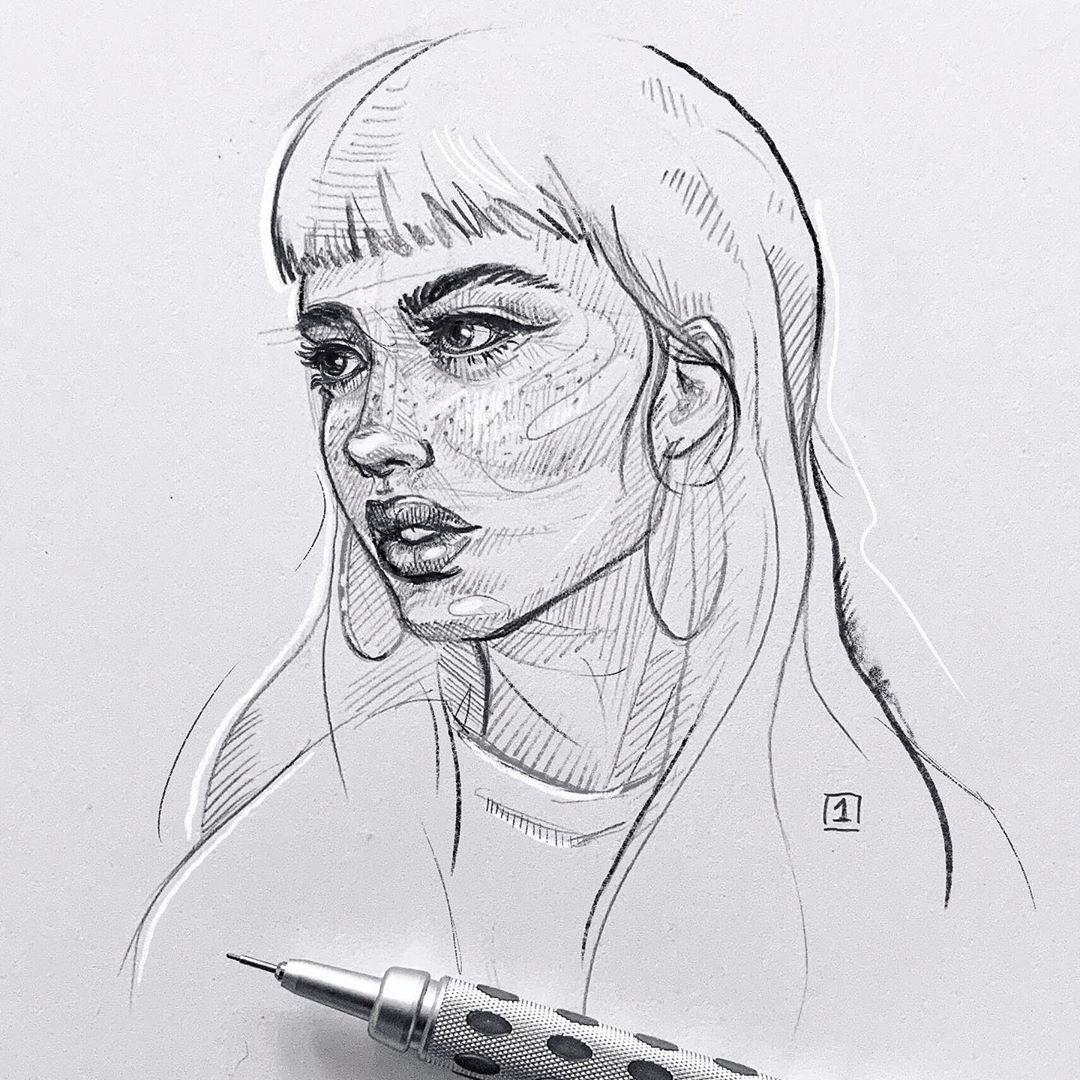 Emily Bador Sketch Concept Art Characters Art Sketches Color Pencil Art