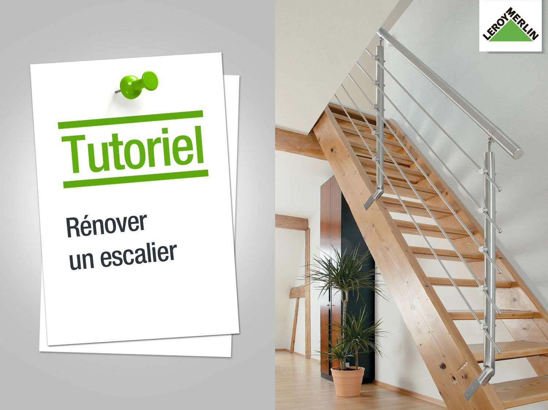 Comment Renover Un Escalier Leroy Merlin Renover Escalier Comment Renover Un Escalier Habillage Escalier