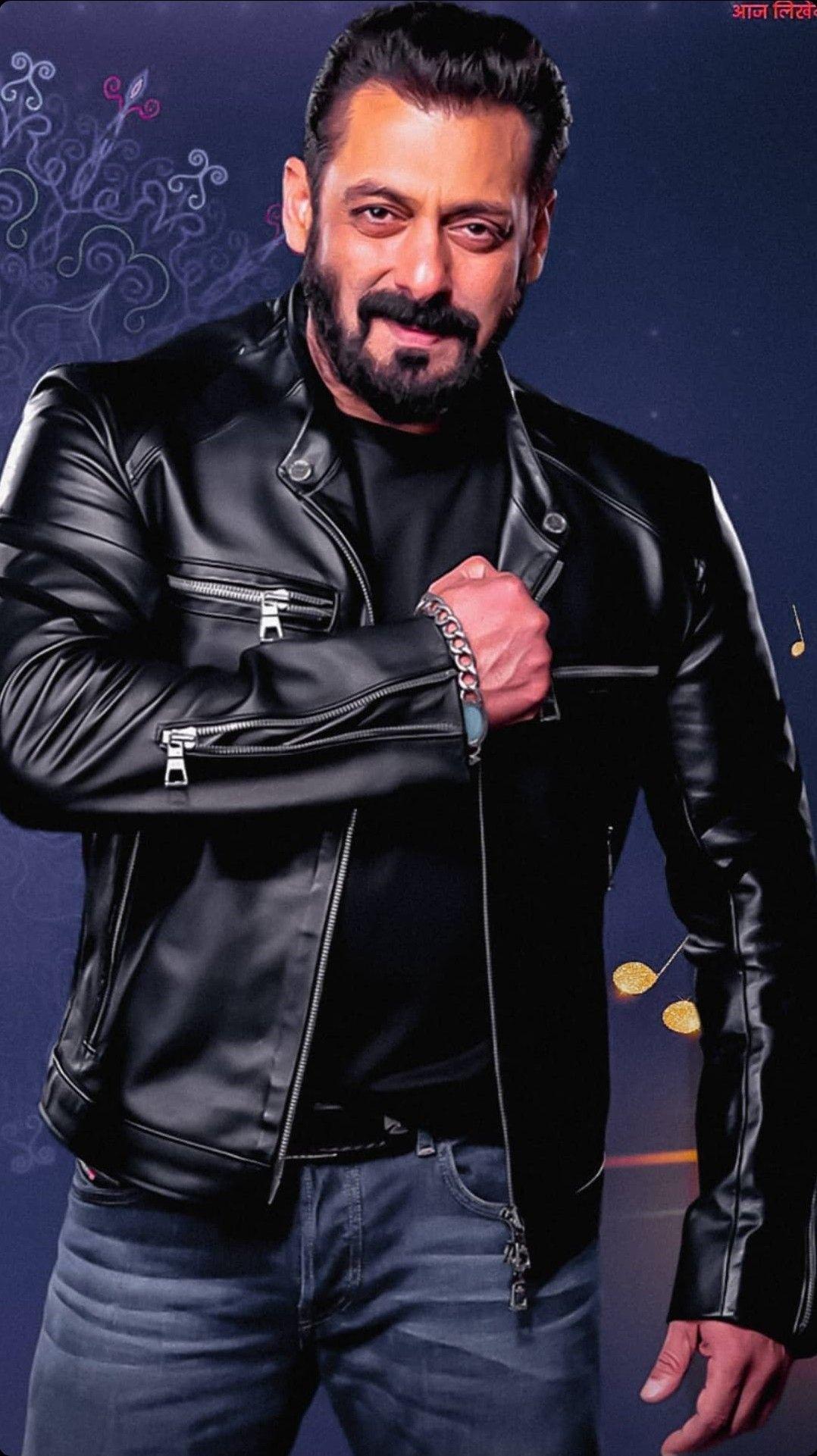 Pin By Ubbsi On Salman Khan In 2021 Leather Jacket Men Mens Jackets Leather Jacket [ 1921 x 1078 Pixel ]