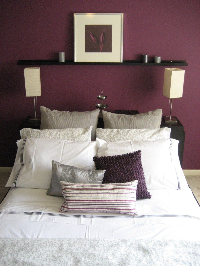 Paint Color Bedroom Accent Wall Rest Of It Grey Or Tan