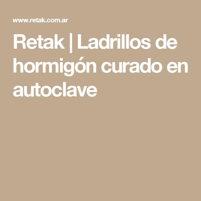 Retak | Ladrillos de hormigón curado en autoclave