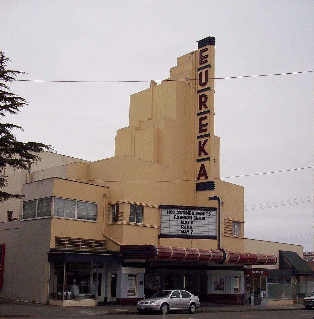 Eureka Theatre in Humboldt County, California