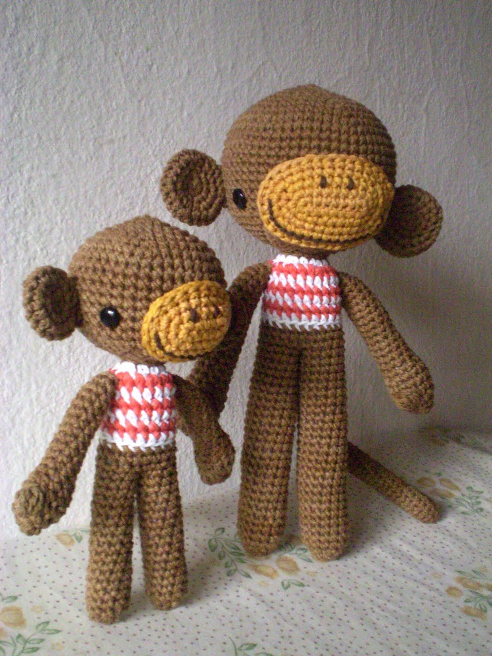 pica-pau: patrón de mono (monkey crochet pattern) | Amigurumis ...