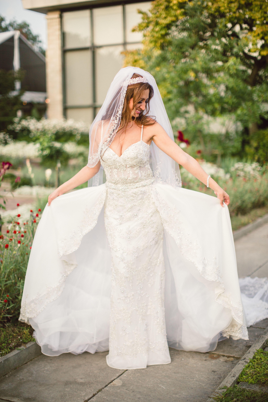YSA Makino Wedding Dress with Detachable Skirt (With
