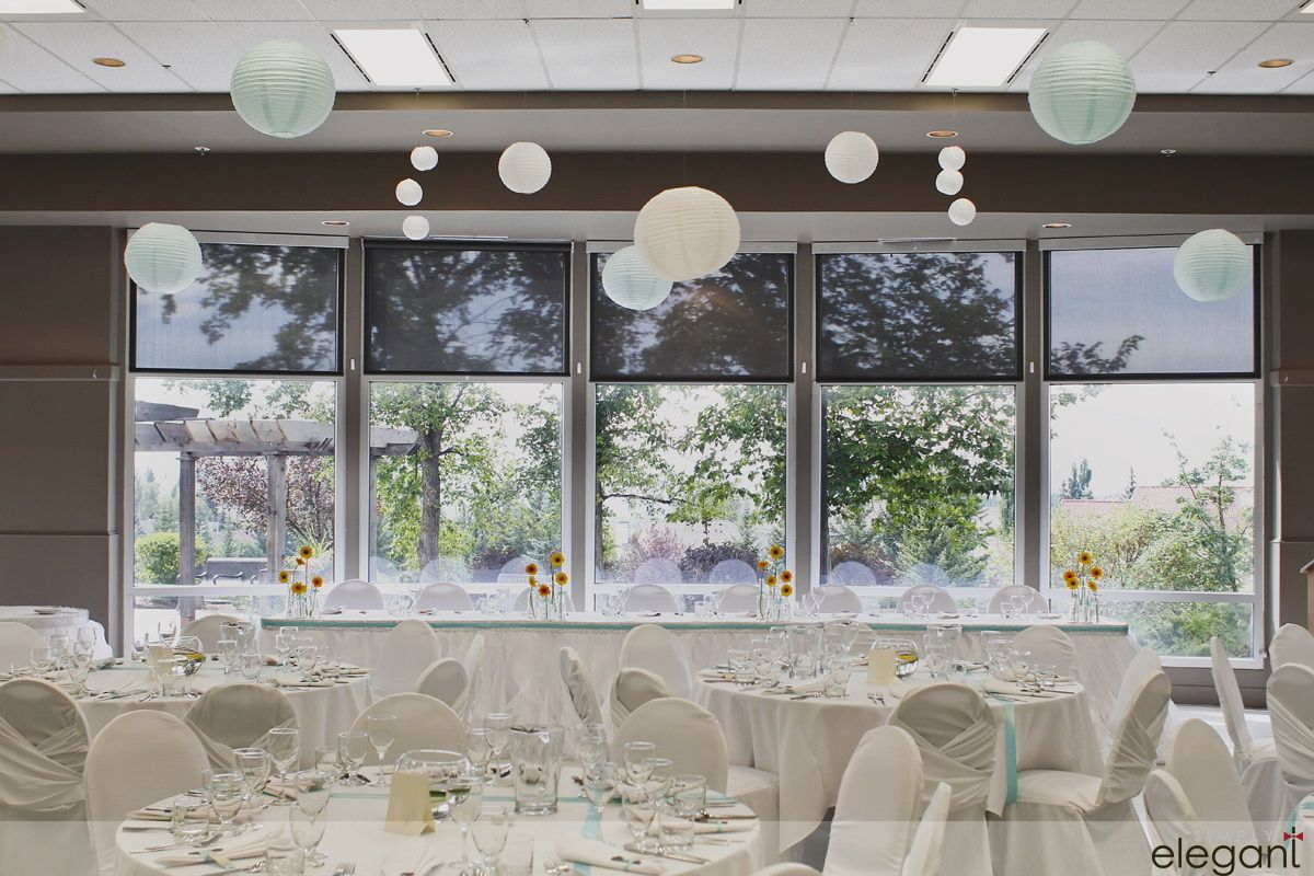 Wedding decorations yellow and gray  Lovely floating paper lanters Edgemont Community Association