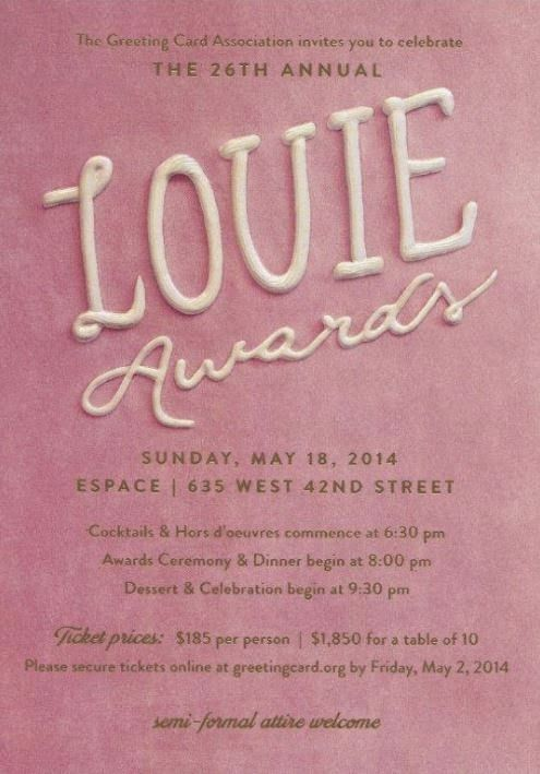 The 26th annual louie awards hosted by the international greeting the 26th annual louie awards hosted by the international greeting card association in conjunction m4hsunfo