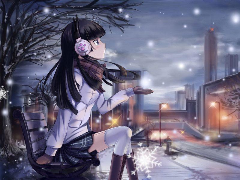 Oreimo Kuroneko Gadis Animasi Gambar Manga Animasi