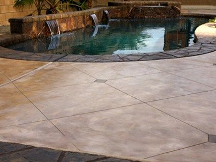 Concrete Pool Deck Finishes Gorgeous Pool Deck Surface Material Comparison  The Concrete Network  New