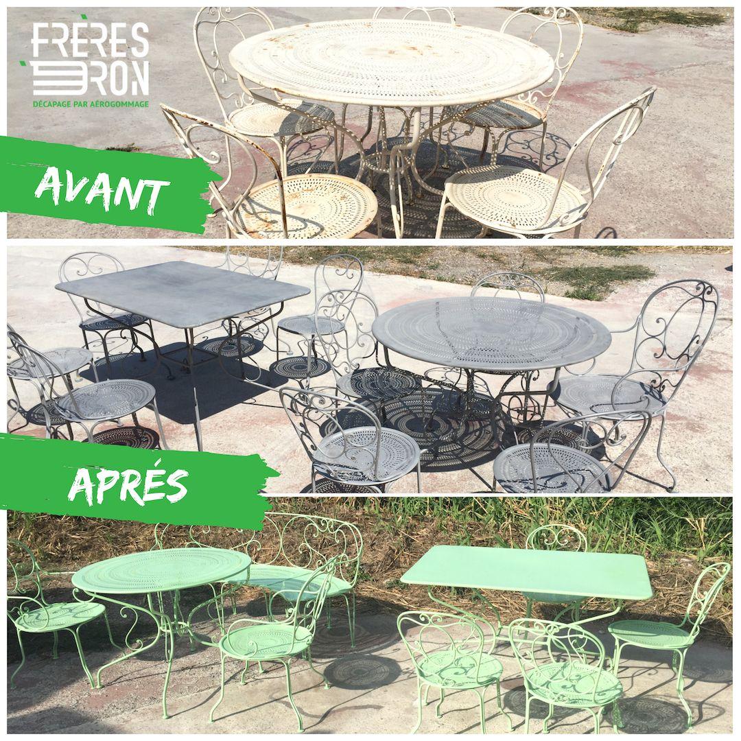 Mobilier De Jardin Alpes Maritimes décapage meubles de jardin , sablage, aérogommage , renover