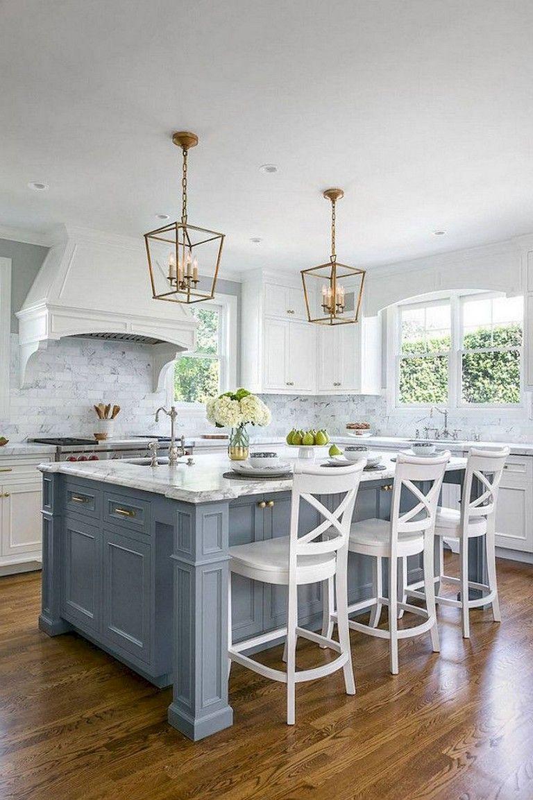 82 Stunning White Kitchen Cabinet Design Ideas Kitchendesign Kitchenremodel Kitchendecor Kitchen Cabinet Design White Kitchen Design New Kitchen Cabinets
