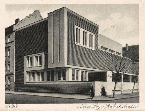 """danismm: """" Tilsit, Kaliningrad Oblast, (Königsberg) 1926"""