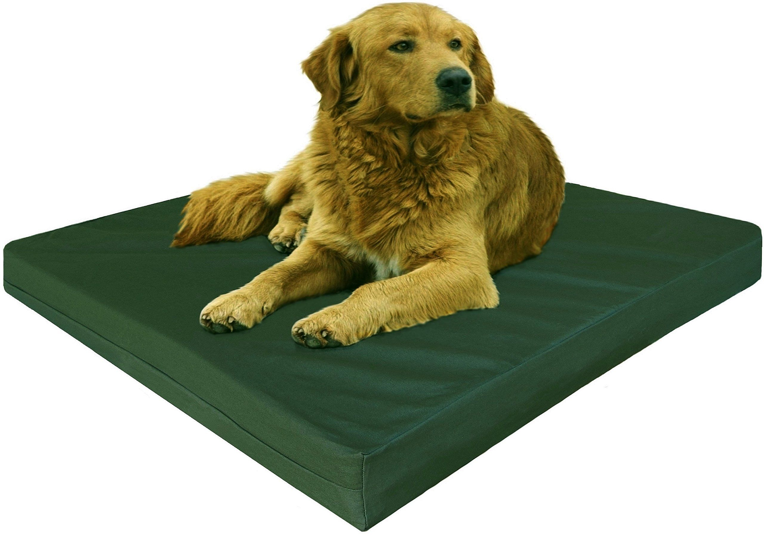 Dogbed4less Gel Cooling Memory Foam Dog Bed With Durable Washable