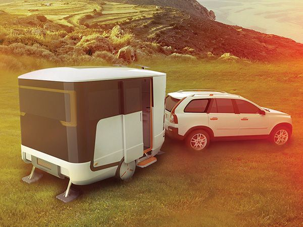The nHome Caravan Optimizes Roominess within its Modern Boxy Body