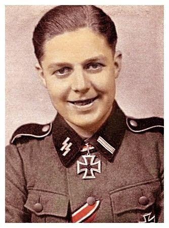 "SS-Untersturmführer (2nd Lieutenant) Gerardes Mooyman (born 1923 in Holland, died 1987 in Holland) of 14th company/SS-Freiwilligen-Legion ""N..."