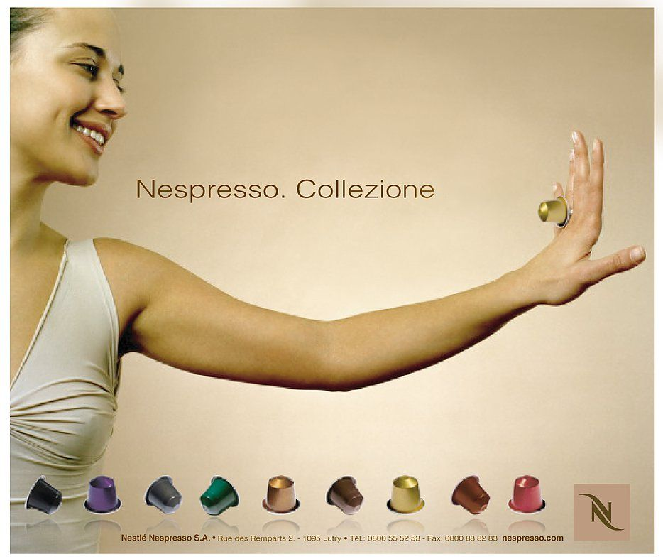 ¡Buenísimo #Viernes a todos! :) #Anuncio de #Publicidad de Nespresso