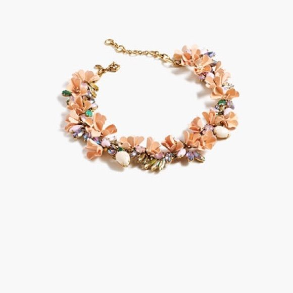 J.Crew Mardi Gras Necklace Retail value: $158 • SOLD OUT ONLINE!! • This is a stunning necklace. • Only 1 flaw, it is missing a flower on the bottom but that's barely noticeable when worn • Priced down because of flaw • NO TRADES NO PAYPAL • J. Crew Jewelry Necklaces