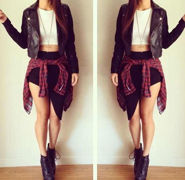 Cute concert outfit idea minus the high schoes