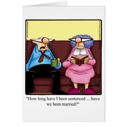Funny Anniversary Card For Her Zazzle Com Anniversary Funny Funny Anniversary Cards Anniversary Cards For Couple